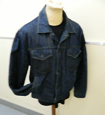 mens Reiss Blanket lined Denim Trucker jacket size Large.. RRP £90 new  (T200)