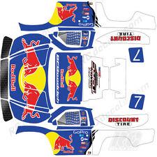 Traxxas Slash 4x4 1/10 - Bryce Menzies Race Truck Replica Kit - Rc Wrap Kit