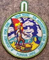 1994 NOAC STAFF Patch - An Adventure For Many A Journey For One - BSA/OA