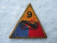 WWII US Army Patch 9th Armor Division Phanton Bulge Remagen Bridge WW2
