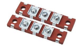 Holden Headlight Wiring Terminal Blocks x2 48-215 FX FJ FE FC FB EK head light