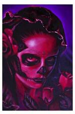 Day of the Dead Mary Sugar Skull by Manuel Valenzuela Tattoo Fine Art Print