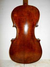 """Old Antique Vintage """"Stainer"""" 2 Pc Back Full Size Violin - No Reserve"""