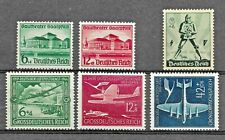 German Deutsches Reich collection 2 classic sets & single 1938-44 Mm/Mh