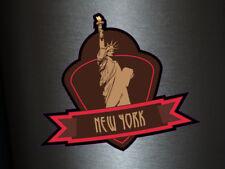 1 x Aufkleber New York City Stadt Stickers Fun Gag Static Tuning Ka-boom FBI Ill