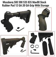 Mossberg 500 590 535 835 Mav88 Stock Rubber Pad 12 GA 20 GA Grip With Storage