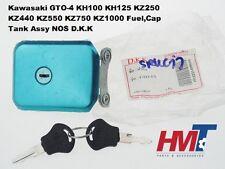 Kawasaki KH100 KH125 KZ250 KZ440 KZ550 KZ750 KZ1000 Fuel,Cap Tank Assy NOS D.K.K