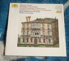 ALBINONI / PACHELBEL / CORELLI GERMAN LP DG 419 046-1 , KARAJAN , STEREO
