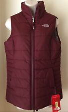 The North Face Girls Harway Insulated Vest Zinfandel Red NWT Size XL (18)