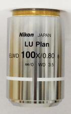 Nikon Microscope Objective CFI LU Plan ELWD BD 100X MUE60901