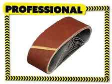 40x Sanding Belts 75x457 MIXED GRIT 40 60 80 120 Fit Bosch Makita Power Sander