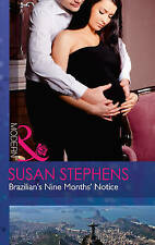 Brazilian's Nine Months' Notice Mills Boon Modern Hot Brazilian Nights A11 LL310