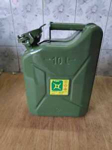 Brand New Ford Willys Jeep jerry Can Green colour with Holder  (10 Liter)