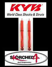 "KYB SKORCHED4 4x4 SHOCKS FRONT NISSAN NAVARA D22 4WD UTE 12/01-ON UP TO 2"" LIFT"