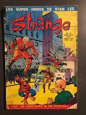 STRANGE - T11 : 5 novembre 1971