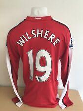 Jack Wilshere Arsenal Match Worn 2009/10 Season Football Shirt AFTAL/UACC RD