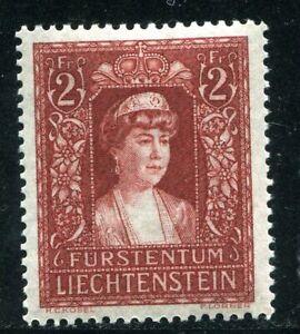 Liechtenstein Scott #130  Zum 119  Princess Elsa  Henna Brown  Mint Light Hinged