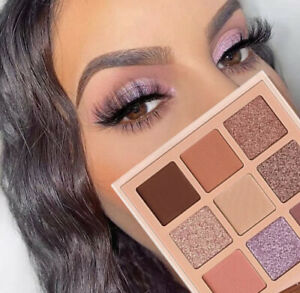 Nude Eyeshadow Matte Glitter Palette Diamond Glitter Shiny Eye Pigment Cosmetics