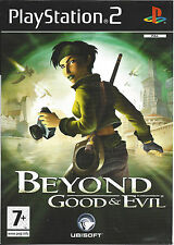BEYOND GOOD AND EVIL for Playstation 2 PS2 - PAL - manual in Dutch