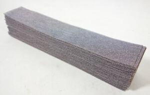 Rhodius klett Schleifblätter Gitternetz 70x400mm Schleifpapier Streifen 50Stk.