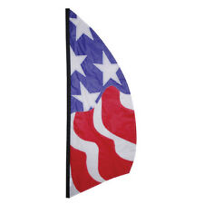 Patriotic Feather Banner Style 8.5 ft Flag PR 23884
