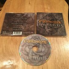 Everthrone - Evil Tongues CD 1st US press merzah dream theater warlord real life