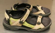 ECCO sandles size 41 brown green