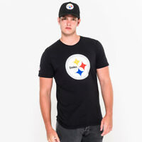 NEW ERA NFL TEAM LOGO TEE STEELERS CAMISETA PITTSBURGH STEELERS 11073655 NEGRO