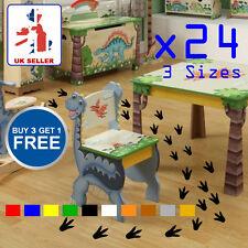 Dinosaur Wall Sticker Footprint x24 for Kids Boys Girls Bedroom Wall Floor Car