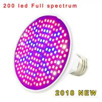 200 Led Plant full spectrum Light bulb Flower Grow Greenhouse For Vegetable