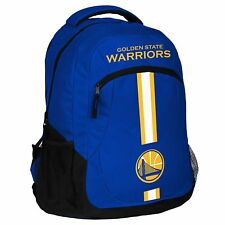 NBA New Golden State Warriors Action Backpack School Book Gym Bag