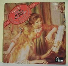 "33T BEETHOVEN SCHUBERT CHOPIN LISZT Disque LP 12"" SOIREE PIANO ROMANTIQUE"