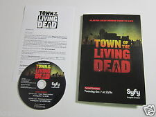TOWN OF THE LIVING DEAD [SYFY SERIES] 2014 PROMO DVD