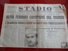 Stadio del 04/08/1947! Ciclismo: Alfio Ferrari Campione del Mondo dilettanti!
