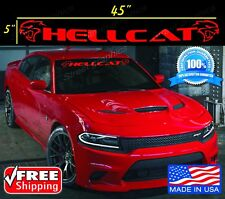 Dodge Challenger Hellcat Windshield Vinyl Decal Sticker Charger SRT Challenger