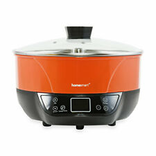 Homesmart Red Multi-function Automatic Lifting Hot Pot 1200 watts 120v