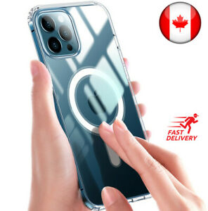 Crystal Clear Case For iPhone 12 mini 12 Pro Max With Built-in Magsafe Charging