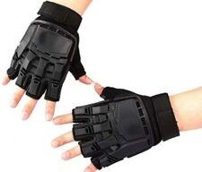 Paintball Air soft Tactical Armour Half Finger Gloves On Sale