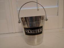 Vintage Petite French Champagne Ice Bucket Kriter
