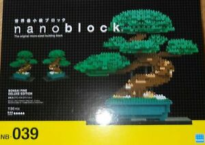 Nanoblock Bonsai Matsu Deluxe Edition NB039
