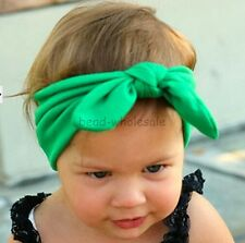 Cute Baby Girls Toddler Newborn Big Headband Headwear Hair Bow Accessories