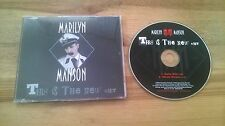 CD Gothic Marilyn Manson - This Is The New Hit (2 Song) Promo INTERSCOPE sc