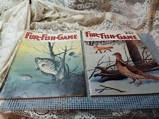 Vintage Fur Fish Game 2 issues 1966 - 1972