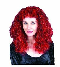 2-tone Wig (Red/Black )Adult Accessory