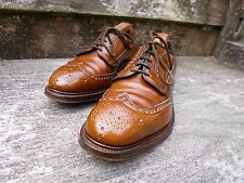 CHURCH VINTAGE BROGUE SHOES – BROWN / TAN – GRAFTON – UK 7 – EXCELLENT CONDITION