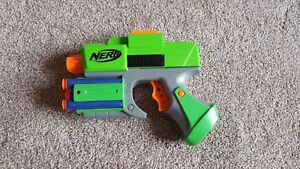 NERF Dart Tag Strikefire Blaster And Darts Green
