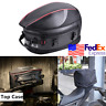 Removable Motorcycle Tail Bag Rear Seat Top Case Luggage Shoulder Pocket Box USA