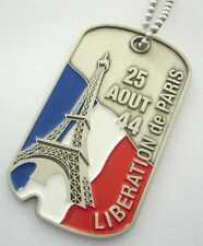 LIBERATION DE PARIS (Commemorative Dog Tag)