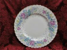 """Syracuse Lilac Rose, Multicolored Floral Rim:  Dinner Plate (s), 10.25"""""""