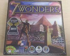 NEW! 7 Wonders Board Game - Antoine Bauza - Repos Production Seven boardgame